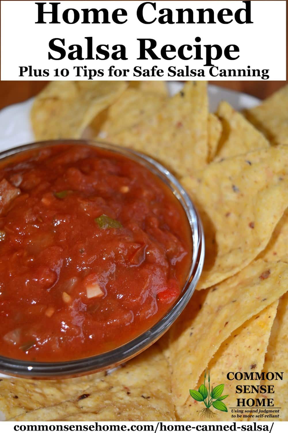 home canned salsa recipe