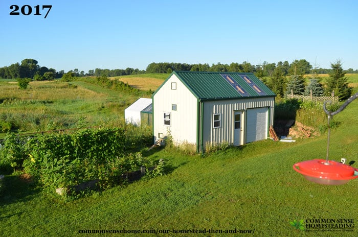 Our Homestead - Then and Now - How Things Have Changed - The Outbuildings
