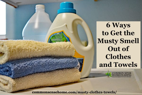 Ways Get The Musty Smell Out Clothes And Towels