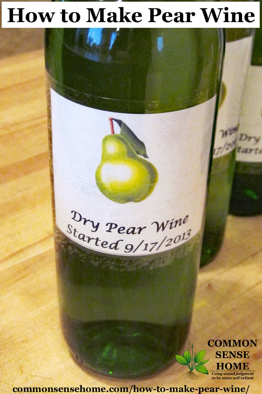 How to make a pear