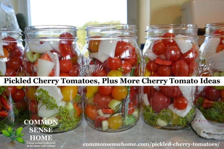 Pickled Cherry Tomatoes for Canning, Plus More Cherry Tomato Ideas