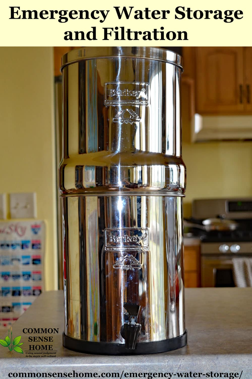 Big Berkey emergency water filter