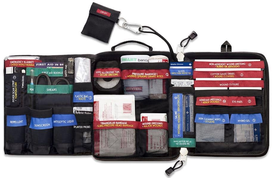 Survival Solutions Traveler First Aid Kit