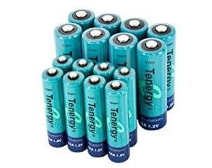 Tenergy AA and AAA rechargeable Batteries