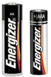 energizer AA & AAA batteries