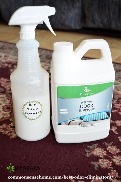 Learn why you should avoid toxic commercial deodorizers and odor removers, and how to use safe, natural odor eliminators for your kitchen and home instead.