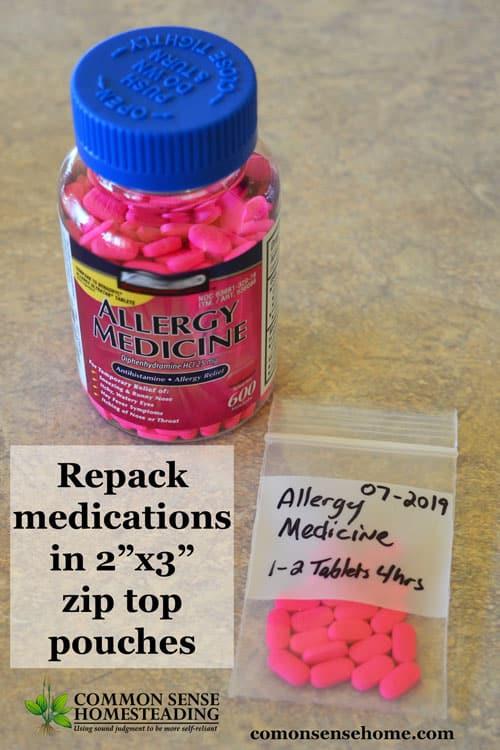 First Aid Kit Meds
