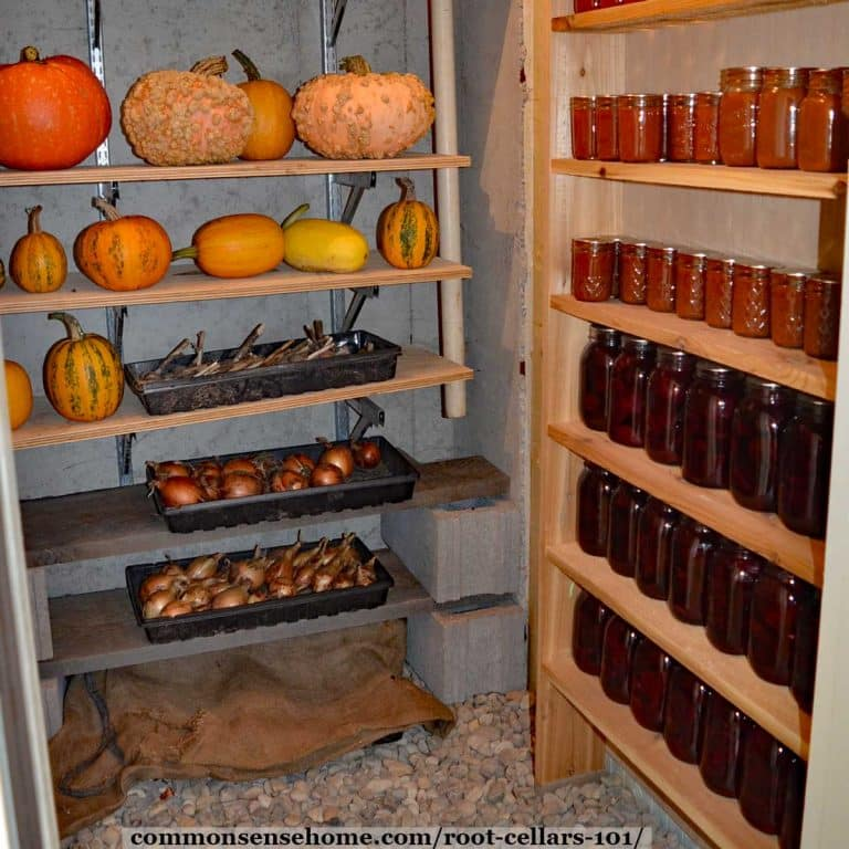 Root Cellars 101 – Root Cellar Design, Use and Mistakes to Avoid