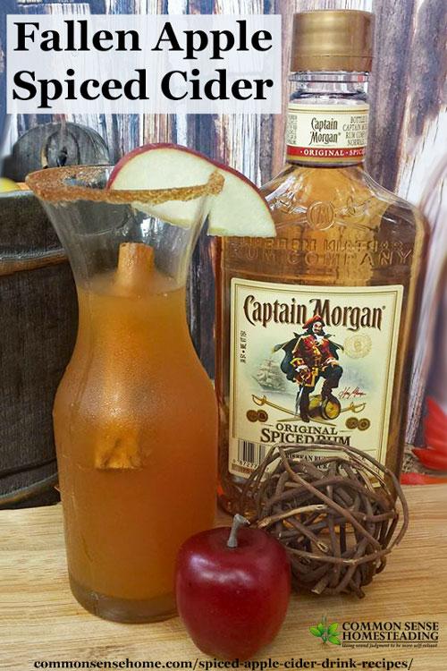 how to drink apple cider juice