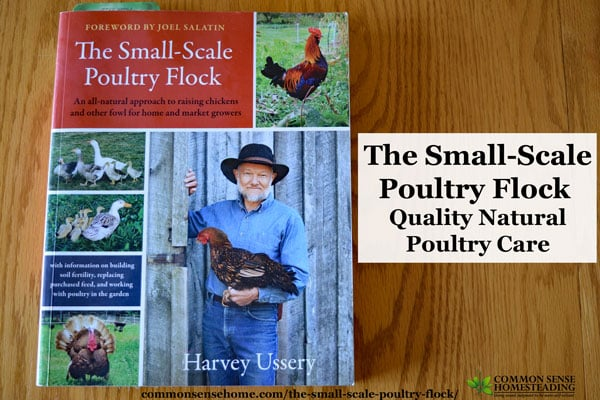 The Small-Scale Poultry Flock focuses on quality - flock quality of life, quality of food produced and quality of the environment impacted by the flock.