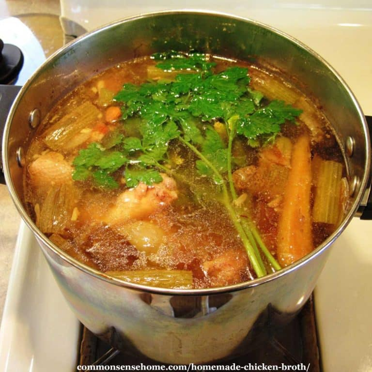 How to Make Homemade Chicken Broth for Great Flavor & More Nutrition