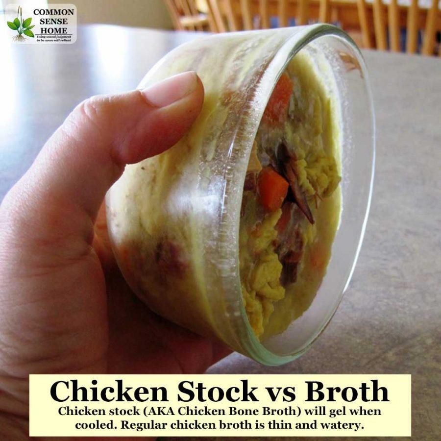 chicken broth vs stock