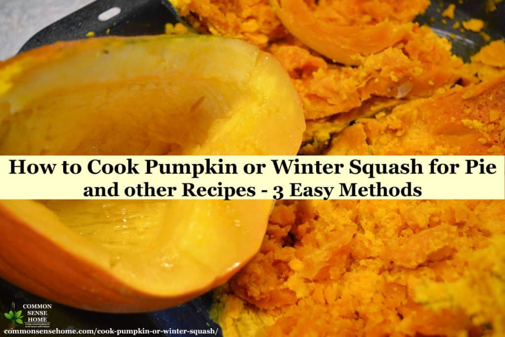 How To Cook Pumpkin Or Winter Squash 3 Easy Methods