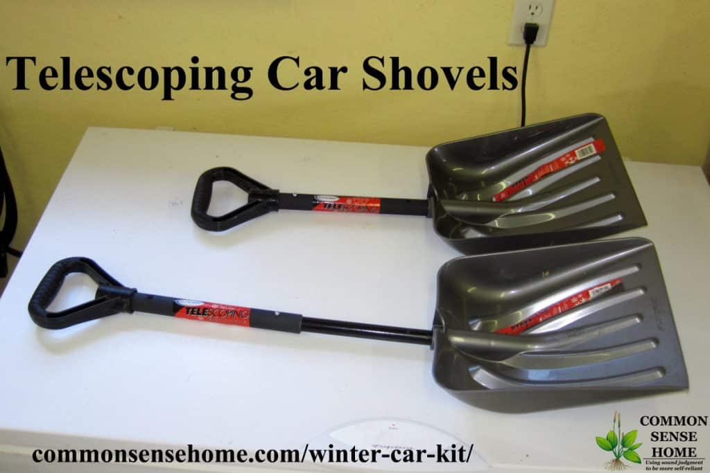 telescoping car shovels