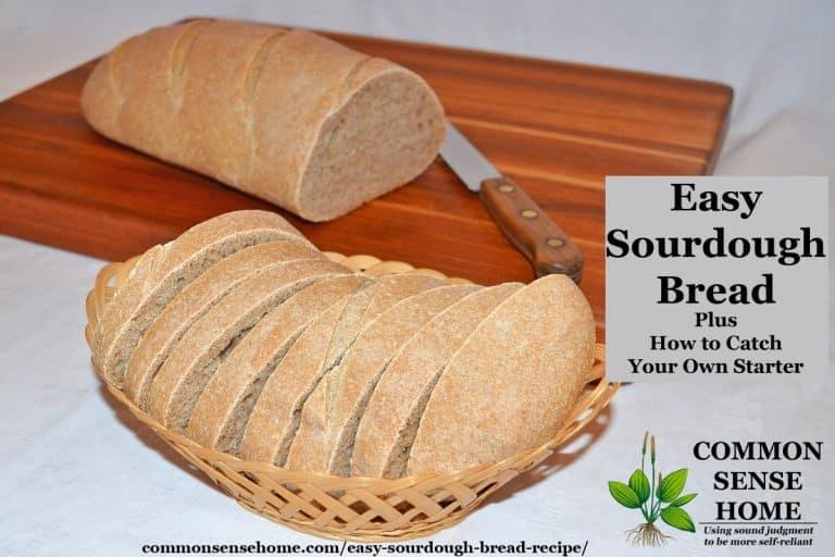 Easy Sourdough Bread Recipe from Starter, Plus Sourdough Starter Tips