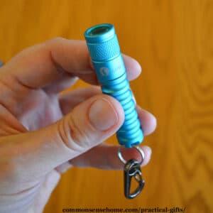practical gift - keychain flashlight