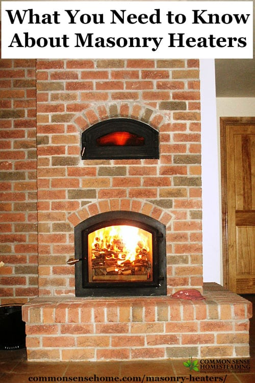 Pros and cons of masonry heaters, plus the things you need to consider before adding a masonry heater to new construction or remodeling project.