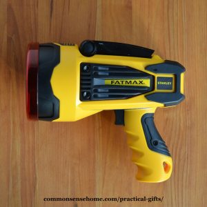 practical gifts - big flashlight