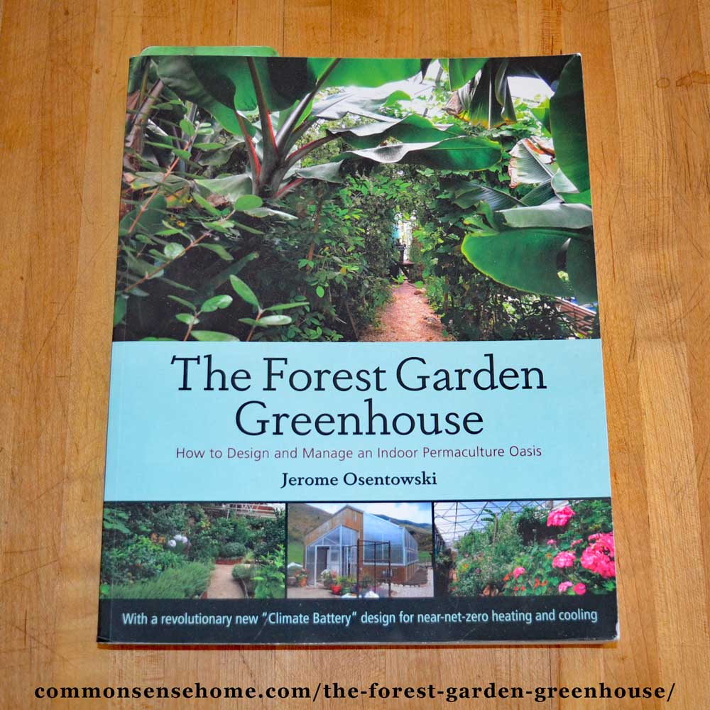 The Forest Garden Greenhouse book
