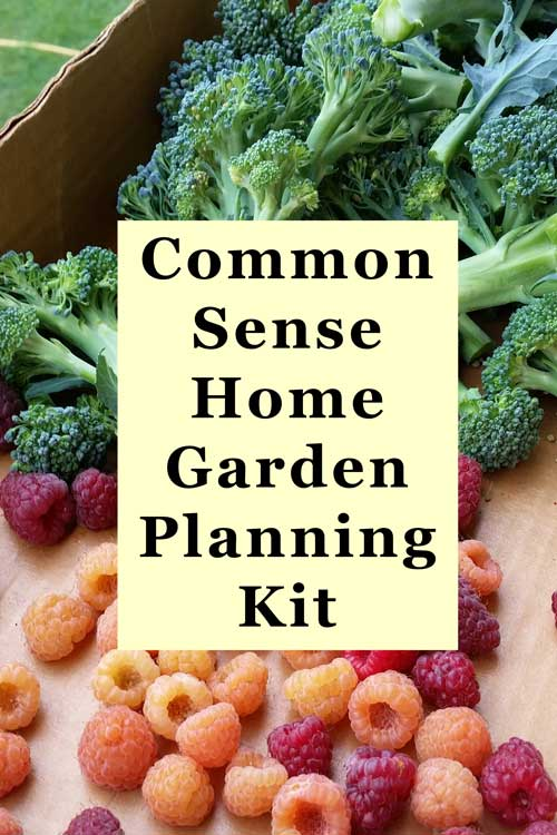 Free Garden Planning Kit with Excel Templates