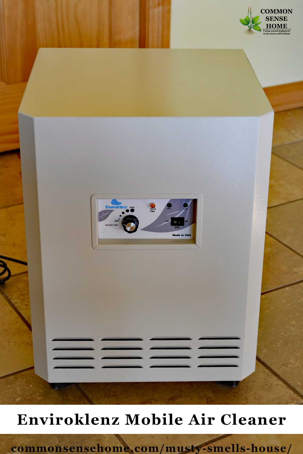 Enviroklenz Mobile Air Cleaner For Musty Smells