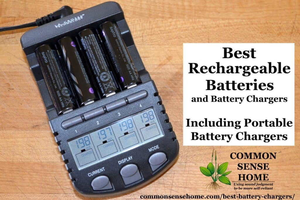 Best Battery Chargers, Power Packs, Solar Chargers & Emergency Radios with Chargers, Rechargeable Batteries, Non-rechargeable Batteries & Battery Storage