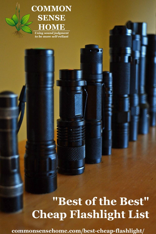 flashlight lineup