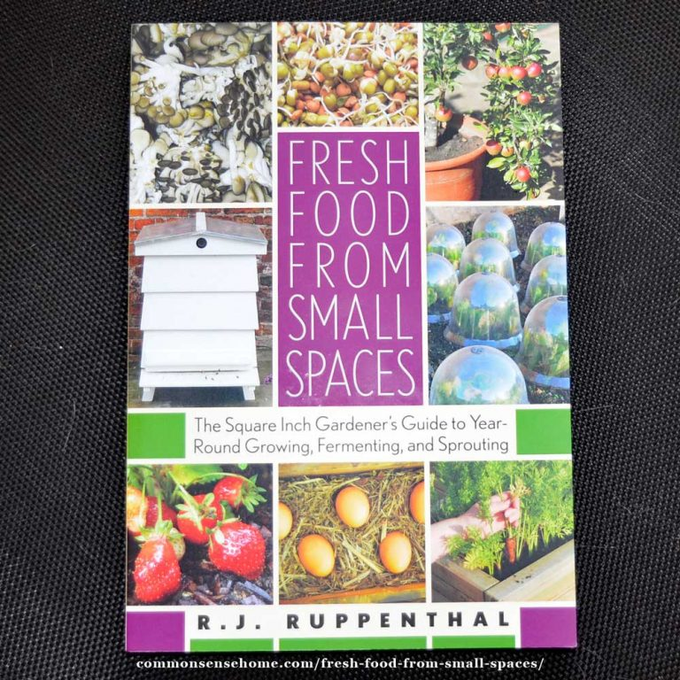Fresh Food from Small Spaces – Grow Fresh Food in the City or Suburbs