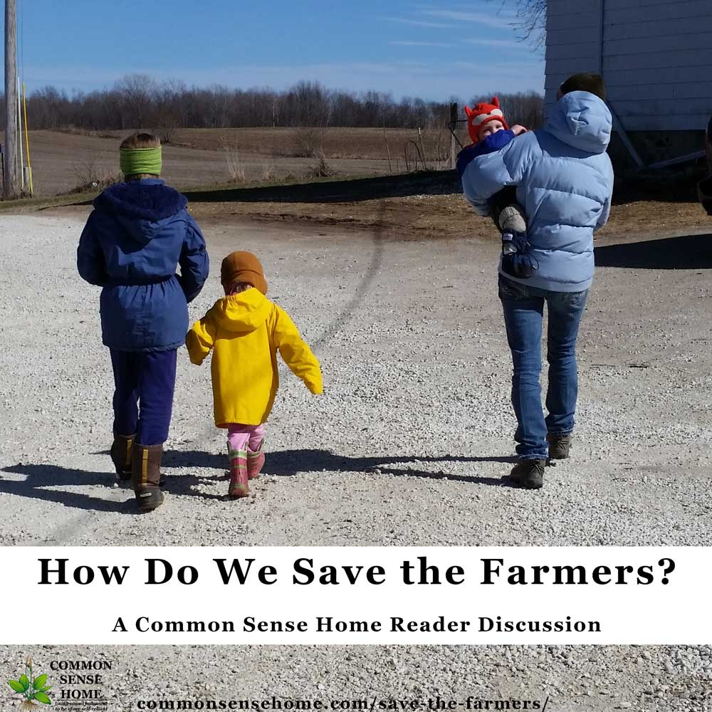 How do We Save Our Farmers?