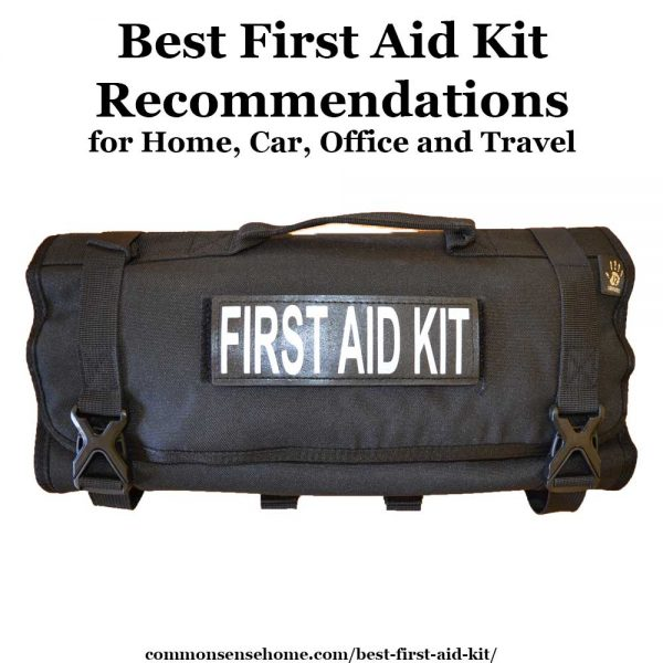 Best First Aid Kit Recommendations for Home, Car, Office and Travel