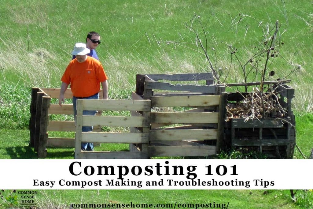 Assembling a home compost bin