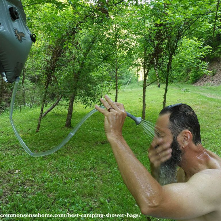 Best Camping Shower Bags Comparison, Plus Outdoor Shower Tips