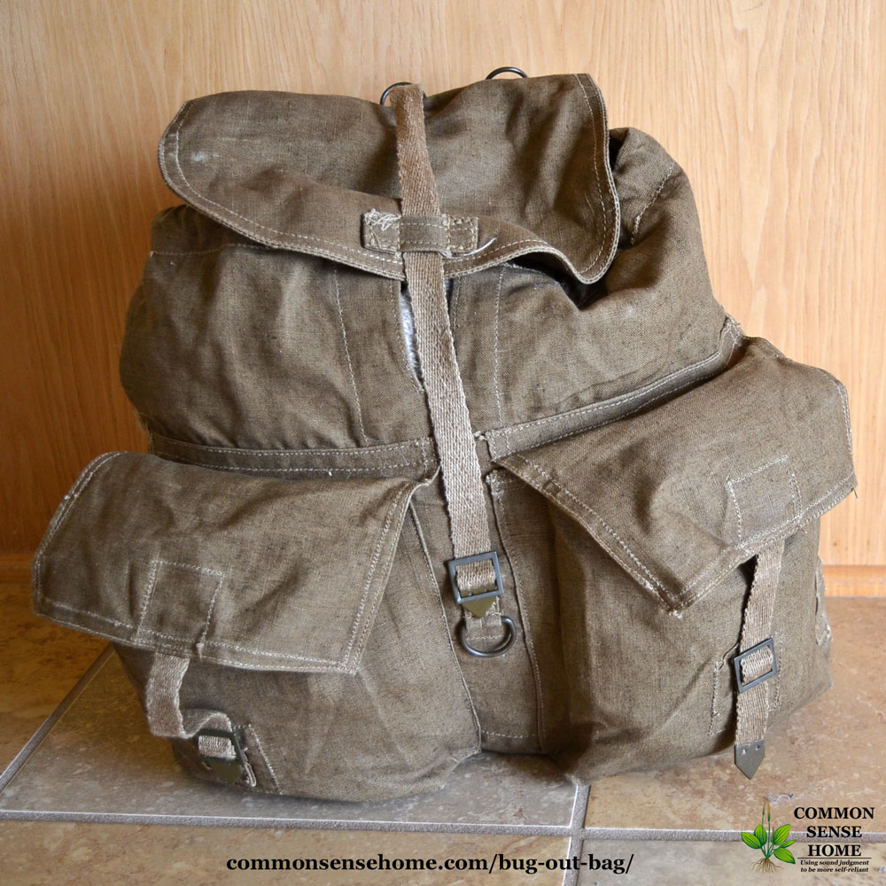 Bug Out Bag or Get Home Bag