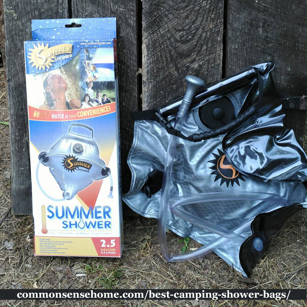 summer shower outdoor solar camping shower bag