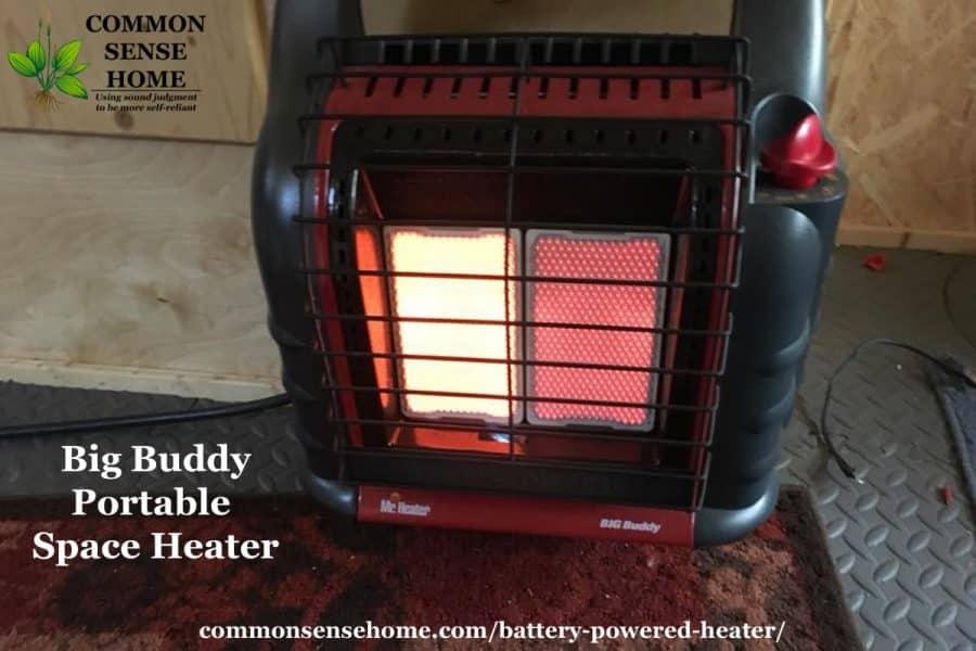 Big Buddy indoor space heater