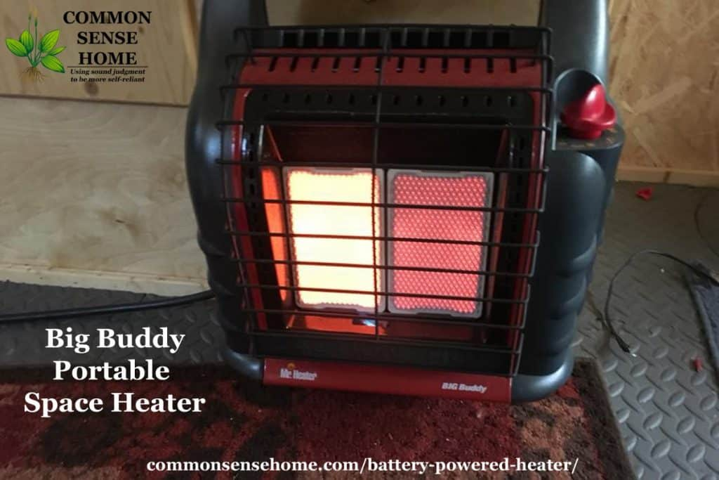 Big Buddy indoor space heater