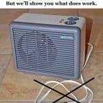 not a battery powered heater
