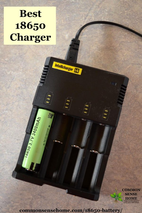 best 18650 charger