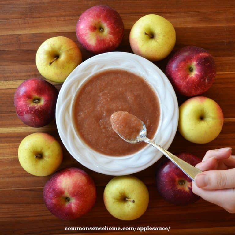 Easy Homemade Applesauce – How to Make It, How to Use It