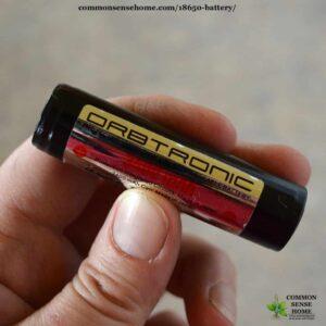 best 18650 battery - orbitronic