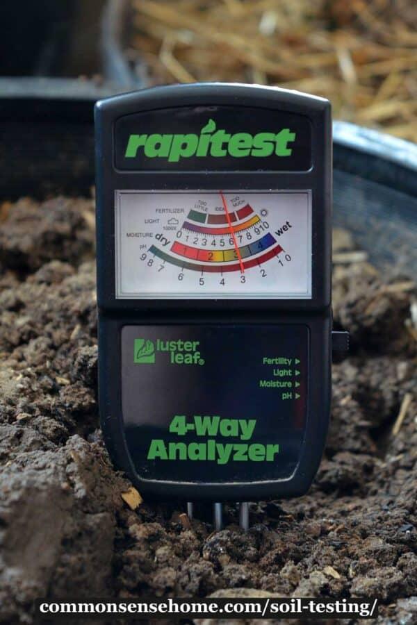 soil test meter