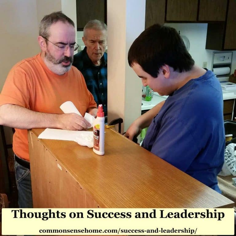 Thoughts on Success and Leadership