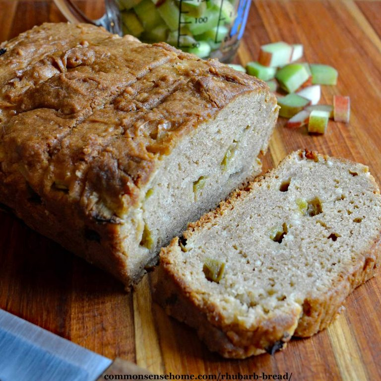 Rhubarb Bread Recipe (So Easy, You Have to Try This!)