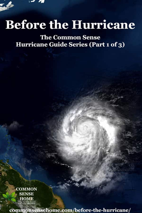 Before the Hurricane - The Common Sense Hurricane Guide Series (Part 1 of 3)