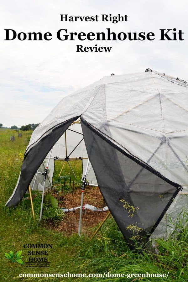 Harvest Right Geodesic Dome Greenhouse