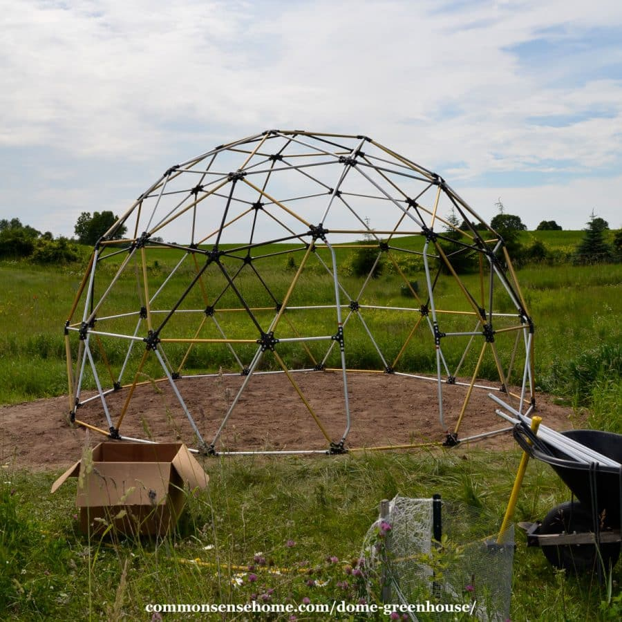 dome greenhouse frame