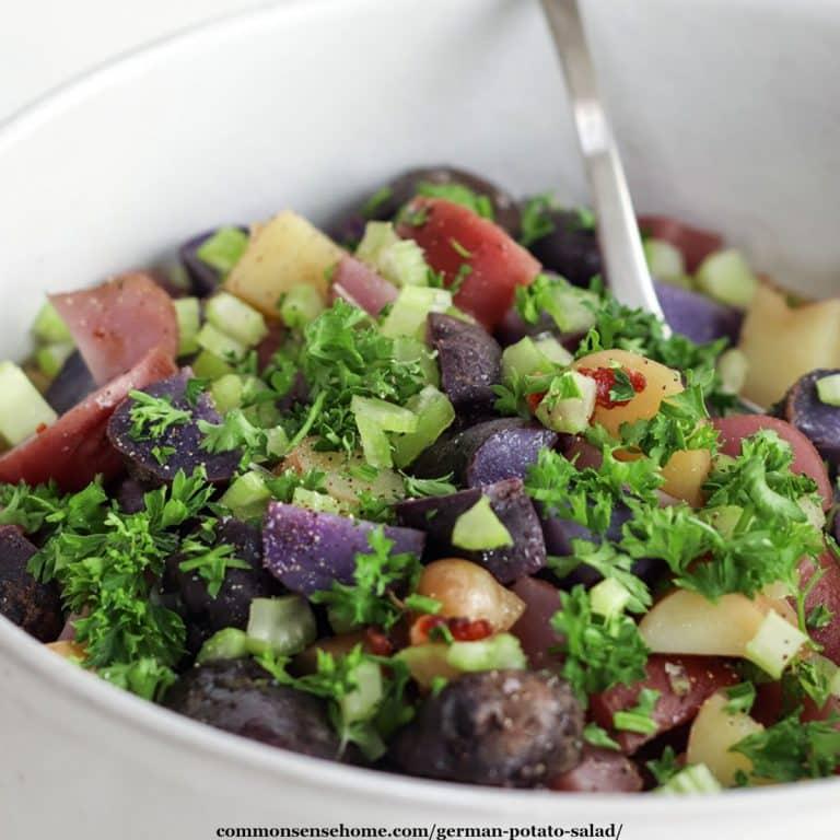 Easy German Potato Salad (Plus 5 Tips to Pick the Best Potatoes)