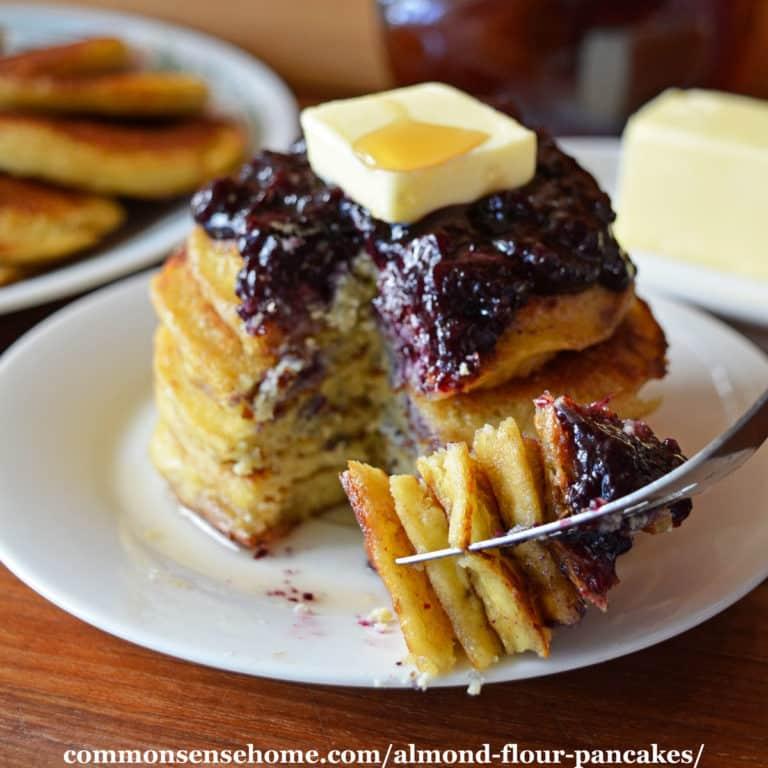 Almond Flour Pancakes – Keto Friendly, Grain & Gluten Free