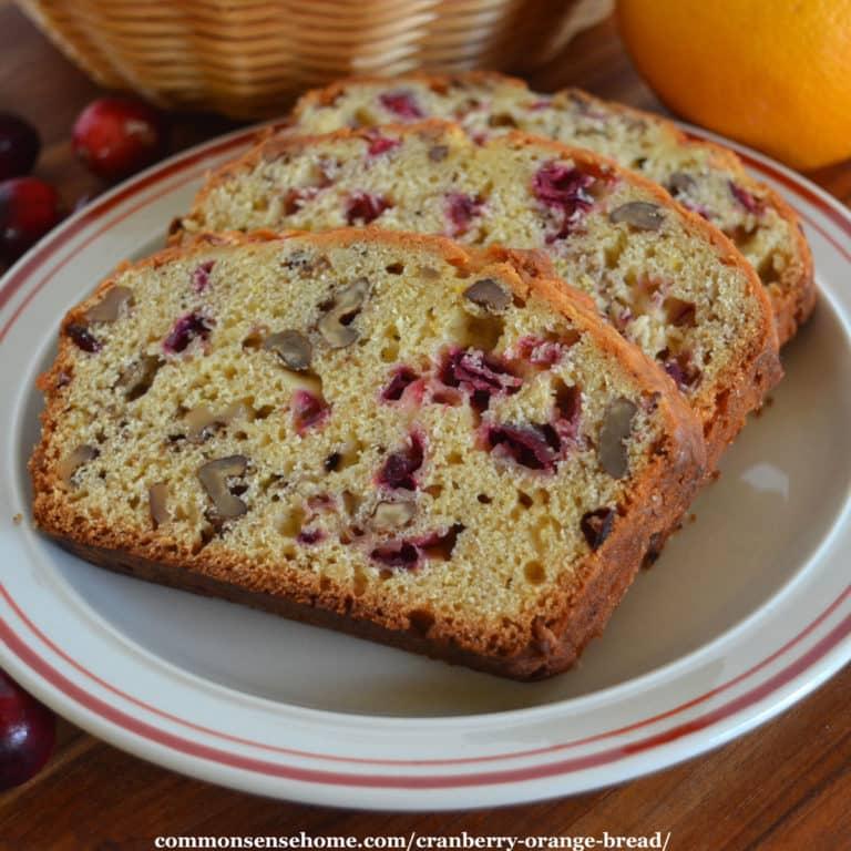 Cranberry Orange Bread Recipe (Plus Quick Bread Baking Tips)