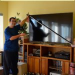 measuring a flat screen TV inches